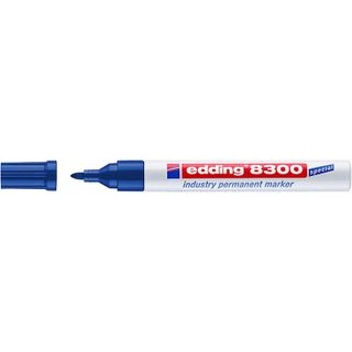 Edding / Industrial permanent marker, for oily and dusty surfaces, 1.5-3 mm Blue