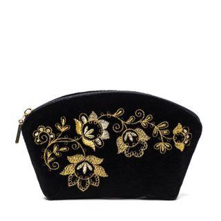 Torzhok gold seamstresses / Velvet cosmetic bag
