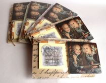 Souvenir fridge magnet with Notepad to mix backgrounds
