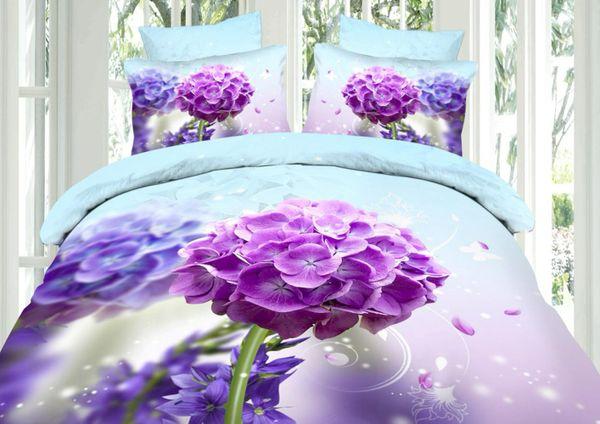 Satin bed linen 3D VIA