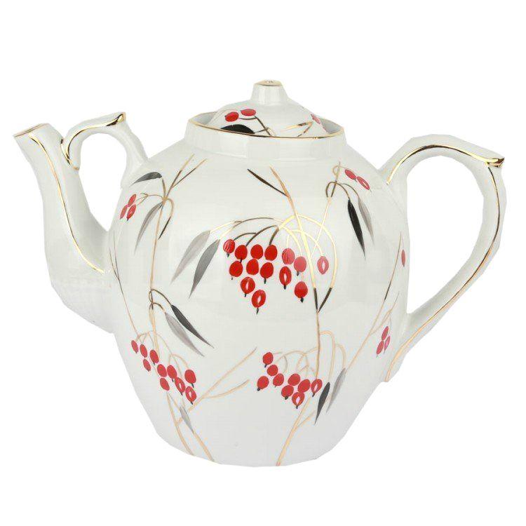 Dulevo porcelain / Teapot 4500 ml Russian Cornel
