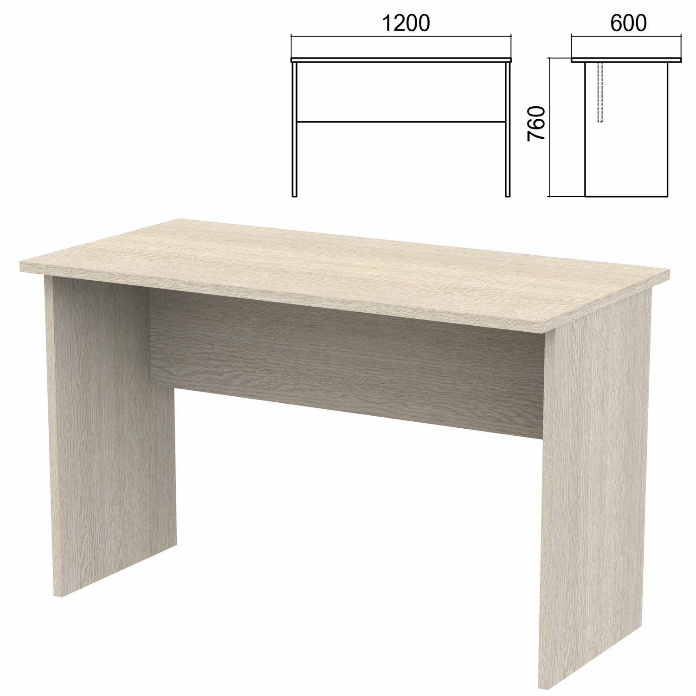 "Table written ""Argo,"" 1200x60x760 mm, ash shimo"