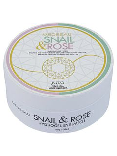 Hydrogel patches for age with the snail and the Rose, MEDIBEAU SNAIL & ROSE EYEPATCH, 90g 60pcs