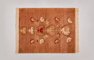 """LA`AL Textiles / Carpet """"Suzani Tree"""", 100 x 135 cm"""