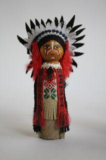 Shaman. 20V. Indians. USA. Doll gift