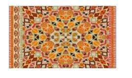 "LA`AL Textiles / Carpet ""Atlas V3-2020"", 140 x 120 cm"