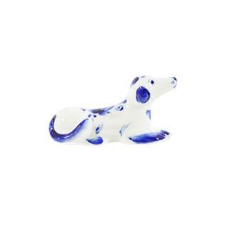 Sculpture Hunting 1st grade, Gzhel Porcelain factory