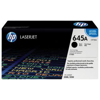 HP Color LaserJet 5500/5550 Black Original Toner Cartridge (Yield 13,000 pages)