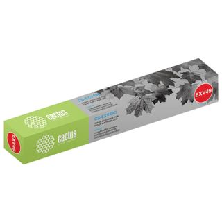 CACTUS Toner (CS-EXV49C) for Canon IR C3320 / C3320i / C3500 and others, Cyan, 19,000 pages