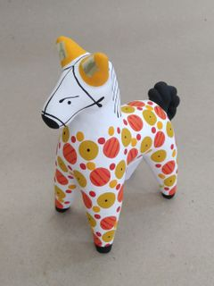 Dymkovo clay toy Horse