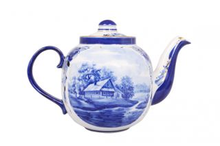 Dulevo porcelain / Teapot 1400 ml Amber RT Gold