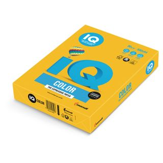 IQ COLOR / A4 paper, 80 g / m2, 500 sheets, intensive, sunny yellow