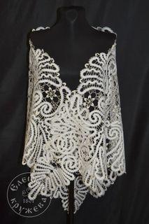 Shawl women's lace С1906