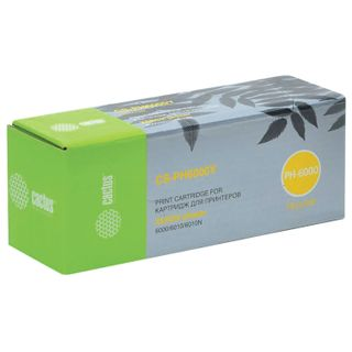 Laser cartridge CACTUS (CS-PH6000Y) for XEROX Phaser 6000 / 6010N, yellow, resource 1000 pages.