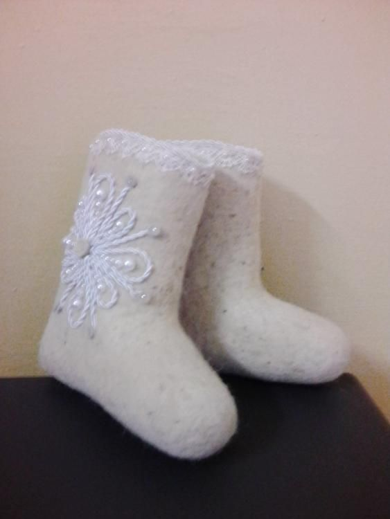 Children's boots with lace