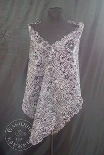 Scarf womens lace С668