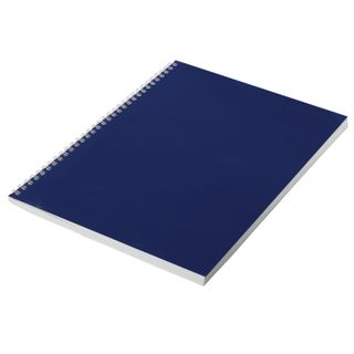 The notebook is boomvinil, A4, 96 sheets, comb, offset No.1, cage, STAFF, BLUE