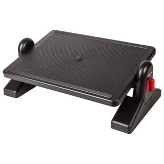 BRAUBERG footrest, office, 41.5x30 cm, with retainers, black