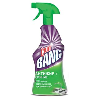 """Means for cleaning plates, ovens CILLIT BANG """"Anti-grease + Shine"""", spray bottle 750 ml"""