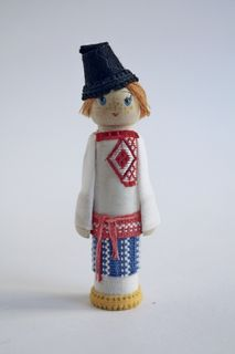 Doll gift. The male costume of the 19th century, Arkhangelsk province