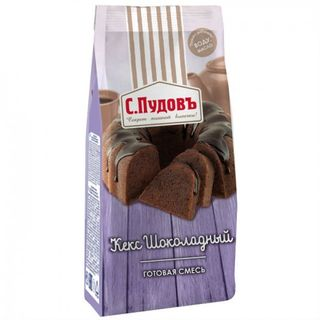 Ready baking mixture Chocolate S.Pudov, 400 g