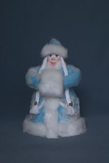 Doll gift. Snow maiden-poteshka