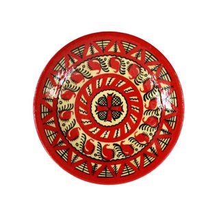 Plate wooden