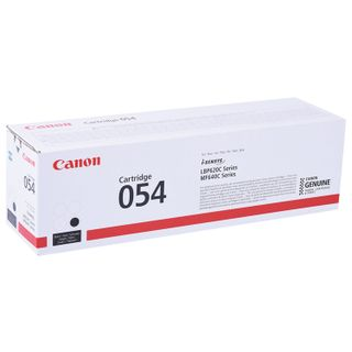 Laser cartridge CANON (054BK) for i-SENSYS LBP621Cw / MF641Cw / 645Cx and others, black, yield 1500 pages, original