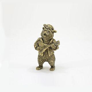 "A statuette ""a Bear with a balalaika"""