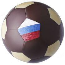 Chocolate soccer ball 'Russia'