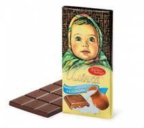 Chocolate Alenka Much milk, 100 gr.