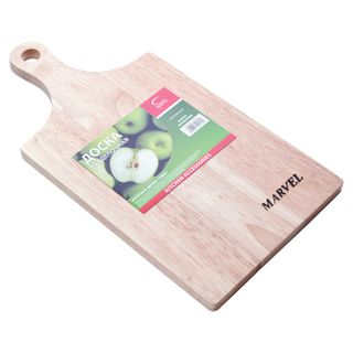 MARVEL / Cutting board made of hevea wood, 39x20x1.5 cm, Austria