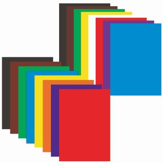 A set of colored cardboard and of A4 paper and a coated (glossy), 8 + 8 colors, in the folder of ONLANDIA, 200х290 mm,