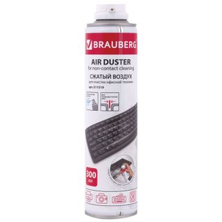 BRAUBERG / Compressed air cylinder for cleaning equipment, 300 ml