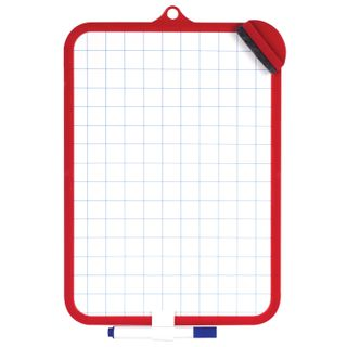 Drawing Board two-sided with marker and sponge (185х260 mm), cage, suspension, PYTHAGORAS