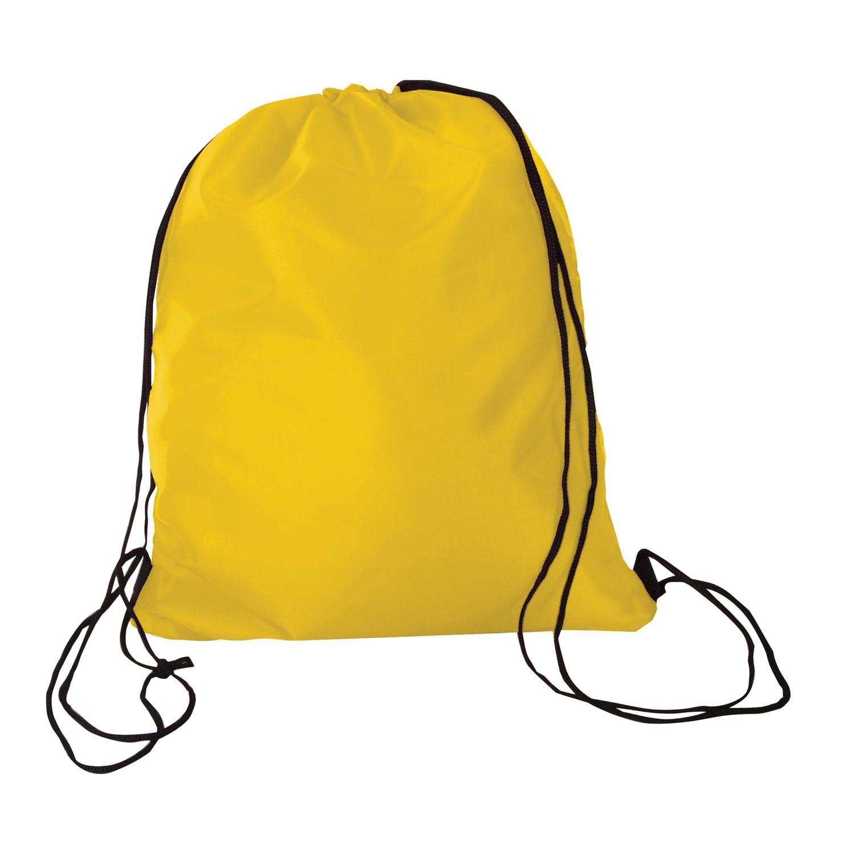 Shoe bag BRAUBERG, durable, lace, yellow, 42x33 cm
