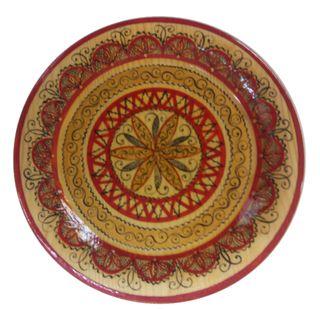 """Plate wooden """"Mezenskaya painting. Schedule"""" 19 cm"""