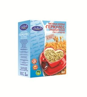 "Oat flakes ""Hercules"" traditional 1 kg"