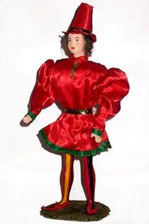 Doll gift. Cavalier. France. 15th century.