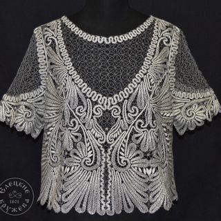Women's chiffon blouse lace С420