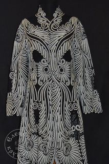 Women's coat lace