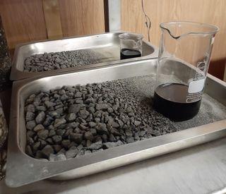 Extraction of asphalt concrete