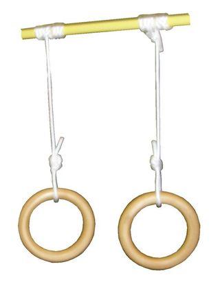 Rings: Gymnastic, wooden