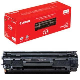 Laser cartridge CANON (725) LBP6000 / LBP6020 / LBP6020B, original, resource 1600 pages