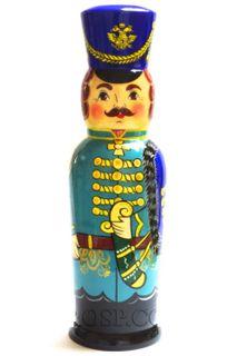 "Author's souvenir case ""Gusar"" - damask under a 0.5-liter bottle"