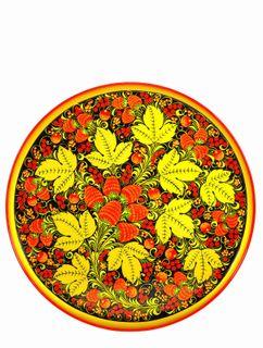 Khokhloma painting / Plate-panel 400x20 mm