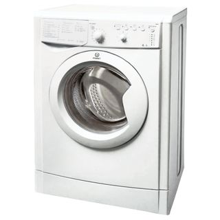 INDESIT IWUB4105 washing machine, 1000 rpm, 4 kg, front loading, 13 programs, 60 x33 x85 cm, white