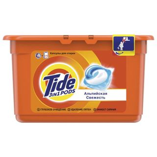 The tool for washing in capsules 12 pieces of 24.8 g TIDE (Tide)