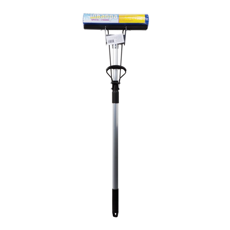 "Self-wringing mop ""Ecomop"", roller wringing, PVA attachment 27 cm, telescopic handle 120 cm"