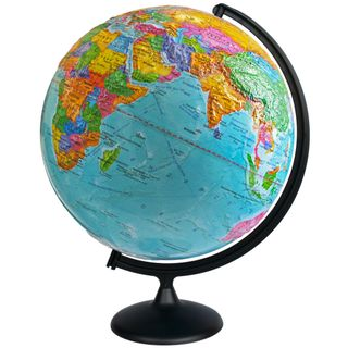 Political relief globe diameter 420 mm
